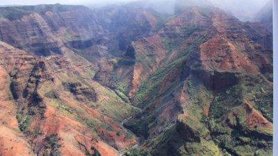 Waimea Canyon on Kauai - the 'Grand Canyon' of the Pacific